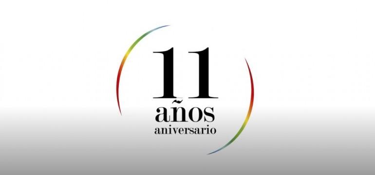 11 años aniversario