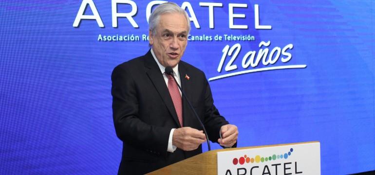 Presidente de la República Sebastián Piñera