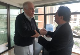 Lorenzo Marusic y Marcelo Mendizábal