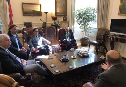Reunión Presidente Senado 1